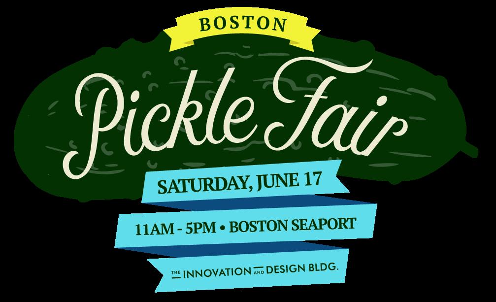 Boston pickle fair saturday june 17 boston seaport idb for Craft fair boston 2017